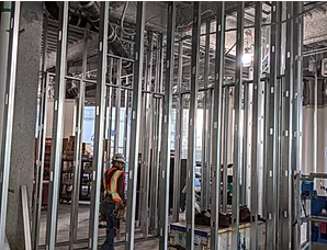 Commercial Drywall Framing
