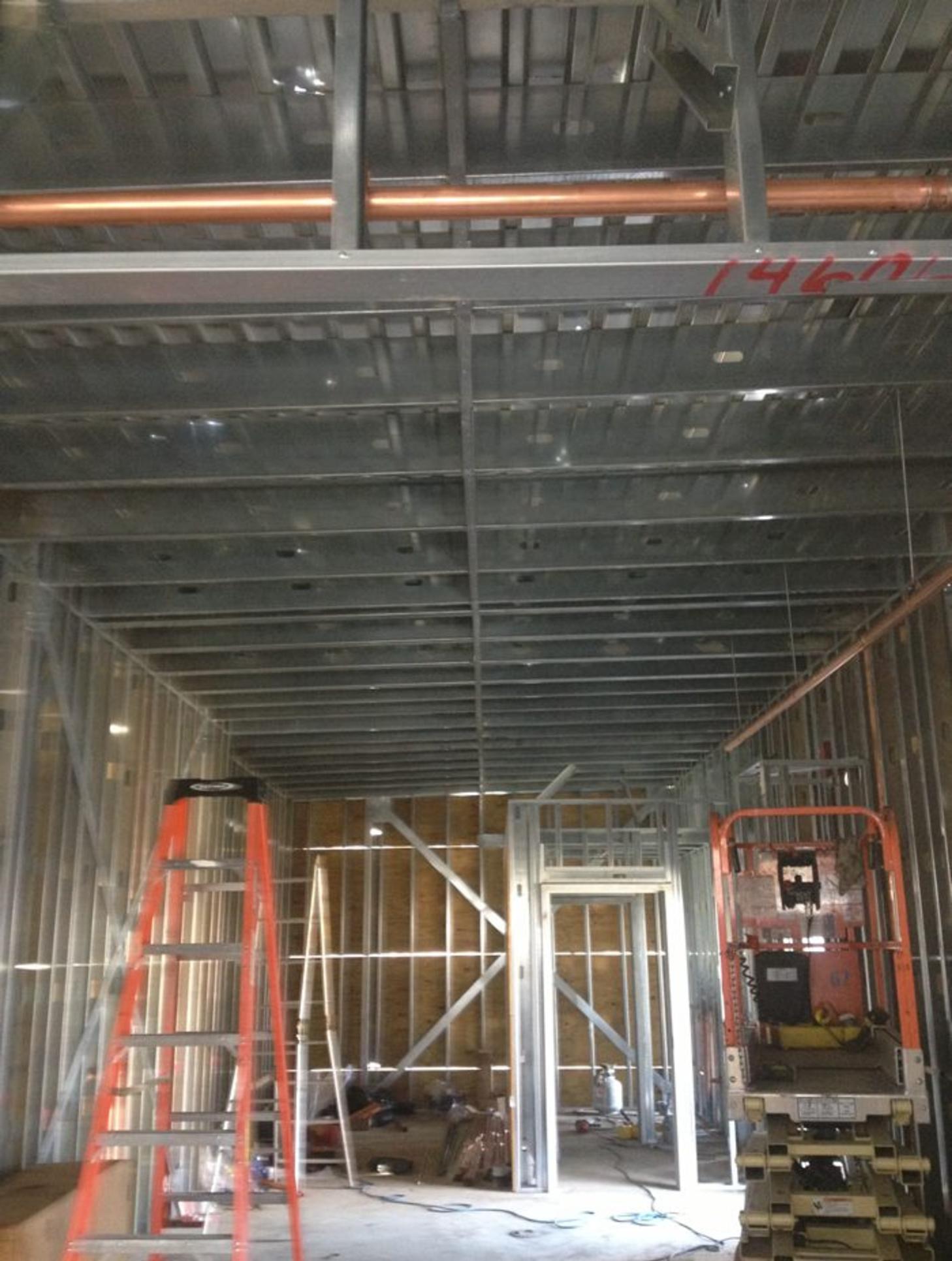 Commercial Metal Framing Dallas